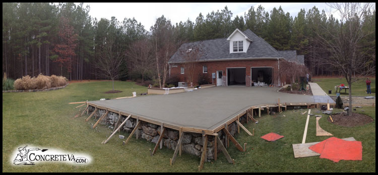 What we do for How to pour a concrete driveway