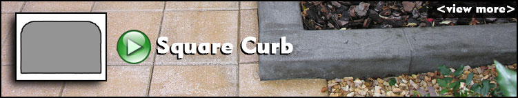 Square Curb ConcreteVA.com